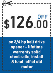 garage door offer